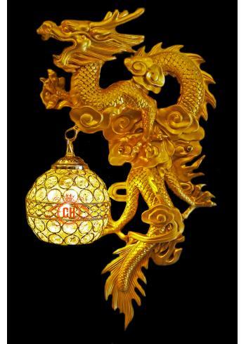Đèn Tường Rồng Vàng 9999